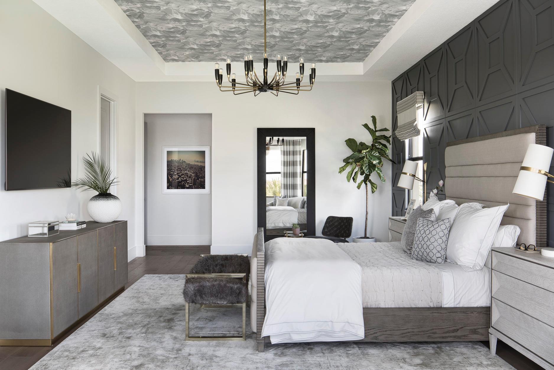 Modern Rustic Master Bedroom - Krista + Home